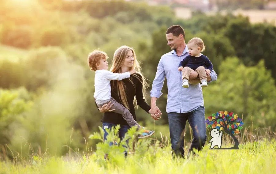 Work from Home and Happy Family Life