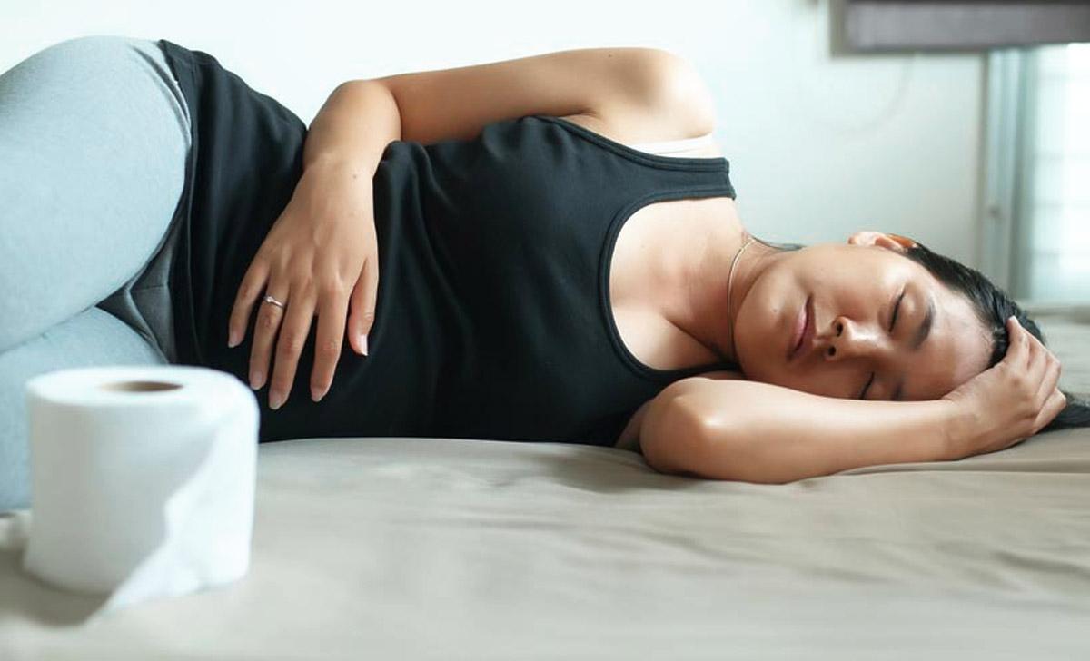 Menstrual cramps can cause diarrhea