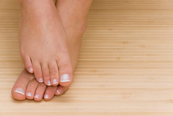 White Patches Toenail
